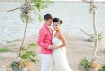 Beach Wedding Ideas / Our favorite beach wedding ideas. Beach receptions, beach rehearsal dinners, beach ceremony....all things beach!  / by Project Wedding