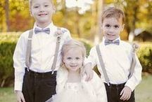 Kids in Weddings / Cute and creative ideas for flower girls, ring bearers and formal children's attire for your wedding! / by Project Wedding