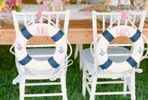 Nautical Wedding Ideas  / Nautical wedding inspiration and decor ideas.  / by Project Wedding