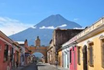 Gorgeous Guatemala / Volcanoes, colourful markets, stunning mountain lakes, Maya pyramids and rainbow weavings, Guatemala is a daydream come true.