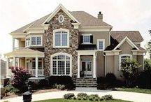 Dream home Plans / by Virginia Herring