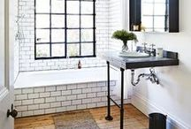 Bathroom Ideas / Great places to get your brush on.  / by Beam
