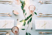 h o m e | T A B L E  S E T / Table decoration