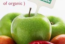 Organic Foods / by As Nature Intended