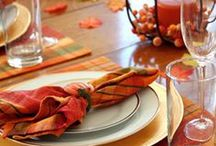 Fall Entertaining / Inspirational products and decorating ideas for fall entertaining.