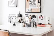 White & Light Workspace