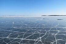 Archipelago in Winter / Boat trips using Eivor Nauvo-Utö in spring 2013