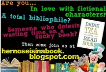 Bibliophiles Blogging 'Bout Books / So my BFF and I have a book blog together. Click any book and you'll find our review for it! Comments, suggestions, and following is  ALWAYS welcome!!! We love our readers!!! (But we're in love with our subscribers, lol) / by Alexis Ashcraft