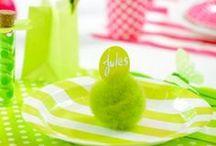 Décoration Pâques / Décoration Pâques : Idées déco pour créer une belle déco de table aux couleurs du printemps.