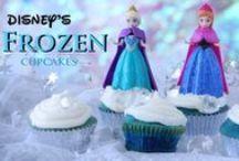 Disney Cupcakes / Disney Cupcakes & Disney Princess Cupcakes, idée pour anniversaire et fêtes.