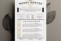 Resume / ...ideas for beautifying the CV...