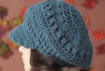 Crochet Hats and Head knick nacks