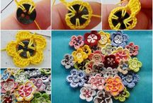 Crochet Flowers, Leaves and other Minis