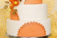 Mariage orange corail peach Wedding / Mariage orange corail peach Wedding idées & saumon, ideas, décoration mariage, déco de table, déco de salle, wedding cake, cupcake, cocktail, dress, robe de mariée, accessoire mariage, fleurs, bouquet