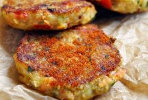 Veggie Burgers, Fritters, Pancakes and Bites / Veggie burgers, nuggets, bites and balls
