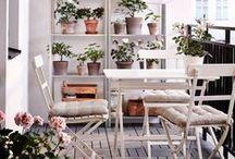 White & Light Balcony