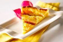 Tartes salées, sucrées & Quiches / Tartes salées, sucrées, Tartelettes, Quiches, Tourtes, idées recettes.