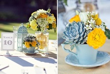 Wedding Flowers & Decor / Add the perfect flower arrangement to your table / by Katie O' Weddings & Events