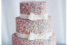 Wedding Cake / Surprise your guests with a unique cake / by Katie O' Weddings & Events