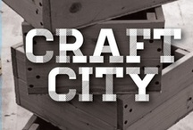Craft City / Who needs Pottery Barn, when I have my two hand right here / by Marisa Scirica