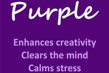 I love purple!!! / by Katrina Mitchell