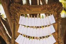 Escort Cards and Seating Chart / Make it easy for guests to find their seats