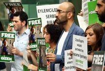 Arkadaşlarımız için nöbetteyiz! / Gizem ve diğer 29 arkadaşımız serbest bırakılana dek her gün 13.00-13.30 arası Rusya Başkonsolosluğu'nun önünde olacağız. Büyükelçiliğe mektup göndererek destek olabilirsin. Hazır mektup burada>> http://www.greenpeace.org/turkey/tr/campaigns/kuzey-kutbunu-kurtar/eylemcilerimizi-serbest-birakin/ #FreeTheArctic30 #direngizem / by Greenpeace Türkiye
