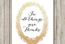 Give Thanks / Creative Ways to Show your Customers how Thankful you are this Thanksgiving.  / by USimprints
