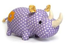 Make a Hippo and Rhino Toy