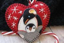 Make Penguins and pretty Birdies