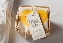 Packaging Ideas / How to style your packaging to match your custom gifts.
