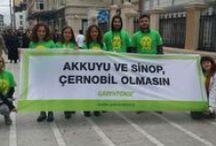 Akkuyu ve Sinop Çernobil olmasın! / Türkiye'nin dört bir yanında, Çernobil'i unutmadık, unutturmayacağız. Sen de unutma, unutturma! >>> http://nukleer.greenpeace.org/cernobil?pinterest_galeri / by Greenpeace Türkiye