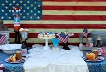 Patriotic Parties! / Fourth of July/Memorial Day / by CandyDirect