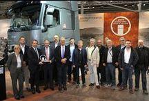 Showroom Renault Trucks / INTERMAT 2015 / IAA 2014 - Hanover / International Trucks of the Years