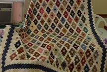 Quilts -- Hexies / by Donna DuMouchel