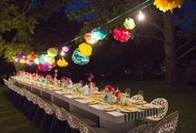 Latino salsa party 2016 / Inspirations for my 20th birthday garden party in the style of latino salsa