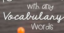 Words and Vocab