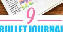 Journaling and Calendars / Ideas for #bulletjournaling and organization calendars