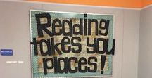 Cool Library Ideas / This board is dedicated to fun, interesting library displays, lessons, and games that students will actually enjoy. No more boring libraries!