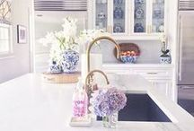 Interior Design: Kitchen & Dining / White, light and airy kitchens.