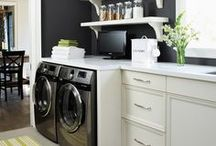Interior Design: Laundry Room / Laundry room inspiration.
