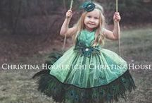 Girl Dresses / Trendy baby, toddler, and little girl couture dresses for holiday, gifts, and special occassions