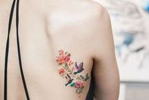 Tattoos / Wildflower, half sleeve, travel, watercolor and Harry Potter tattoo inspiration.