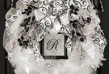 wreaths & door hangers / by NancyGene's Flowers