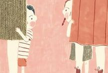 Illustrations - Characters from a tale / by Cecilia Bussolari