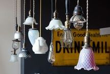 DIY Lamps and Chandeliers / by Cecilia Bussolari