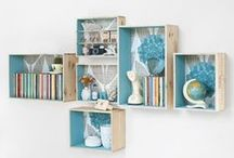 Upcycled Space Organizers / by Cecilia Bussolari