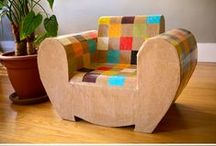 Cardboard and Pallet Forniture / by Cecilia Bussolari