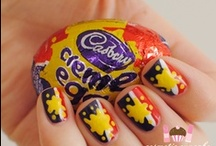 Easter Nail Art / Chocolate, eggs and Easter Bunnies! So much cute Easter Nail Art inspiration!