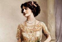 Edwardian actors & actresses / Vintage postcards